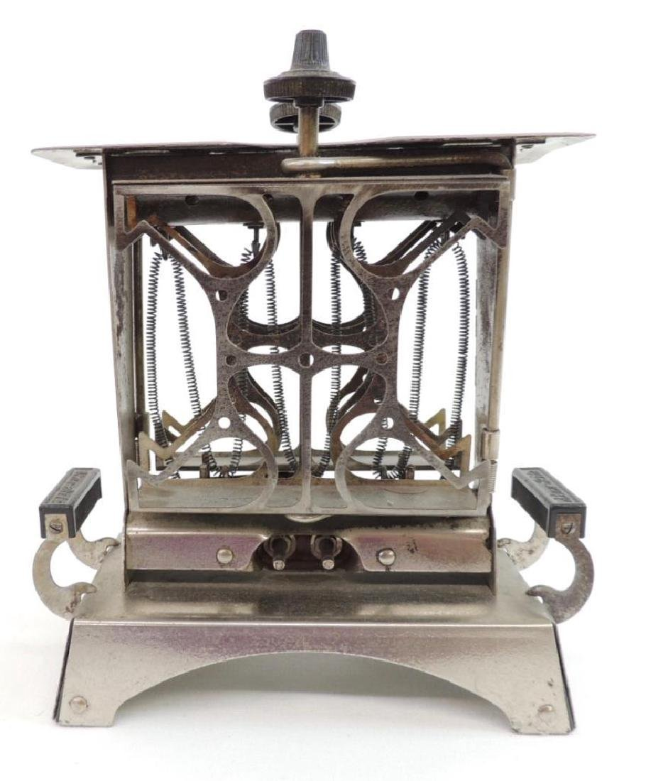 Antique Chrome Star - Rite Electric Toaster