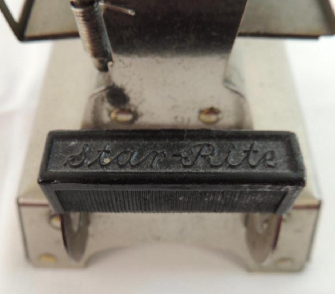 Antique Chrome Star - Rite Electric Toaster - 3