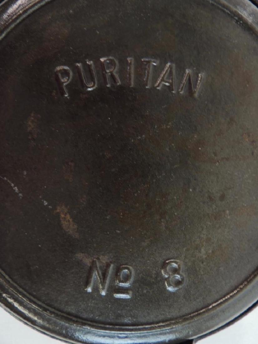 Puritan Cast Iron Waffle Maker - 2