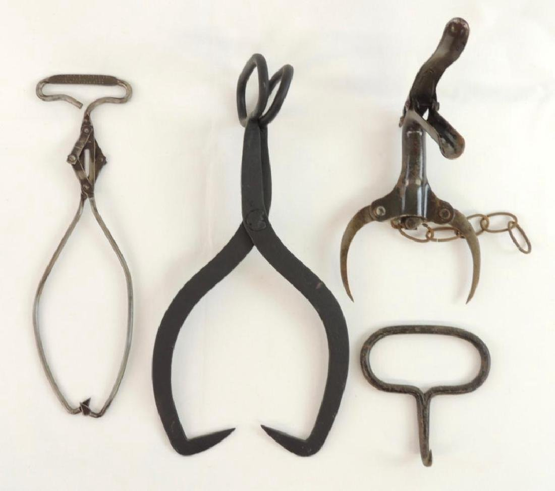 Group of Tongs