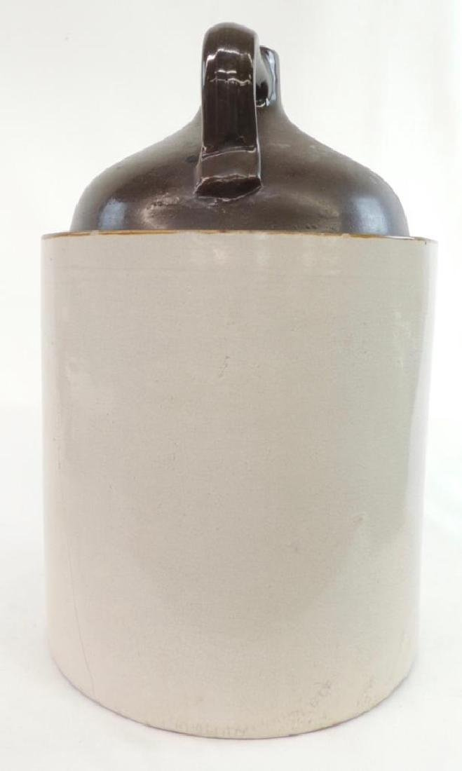 5 Gallon Uhl Pottery Crock Jug - 6