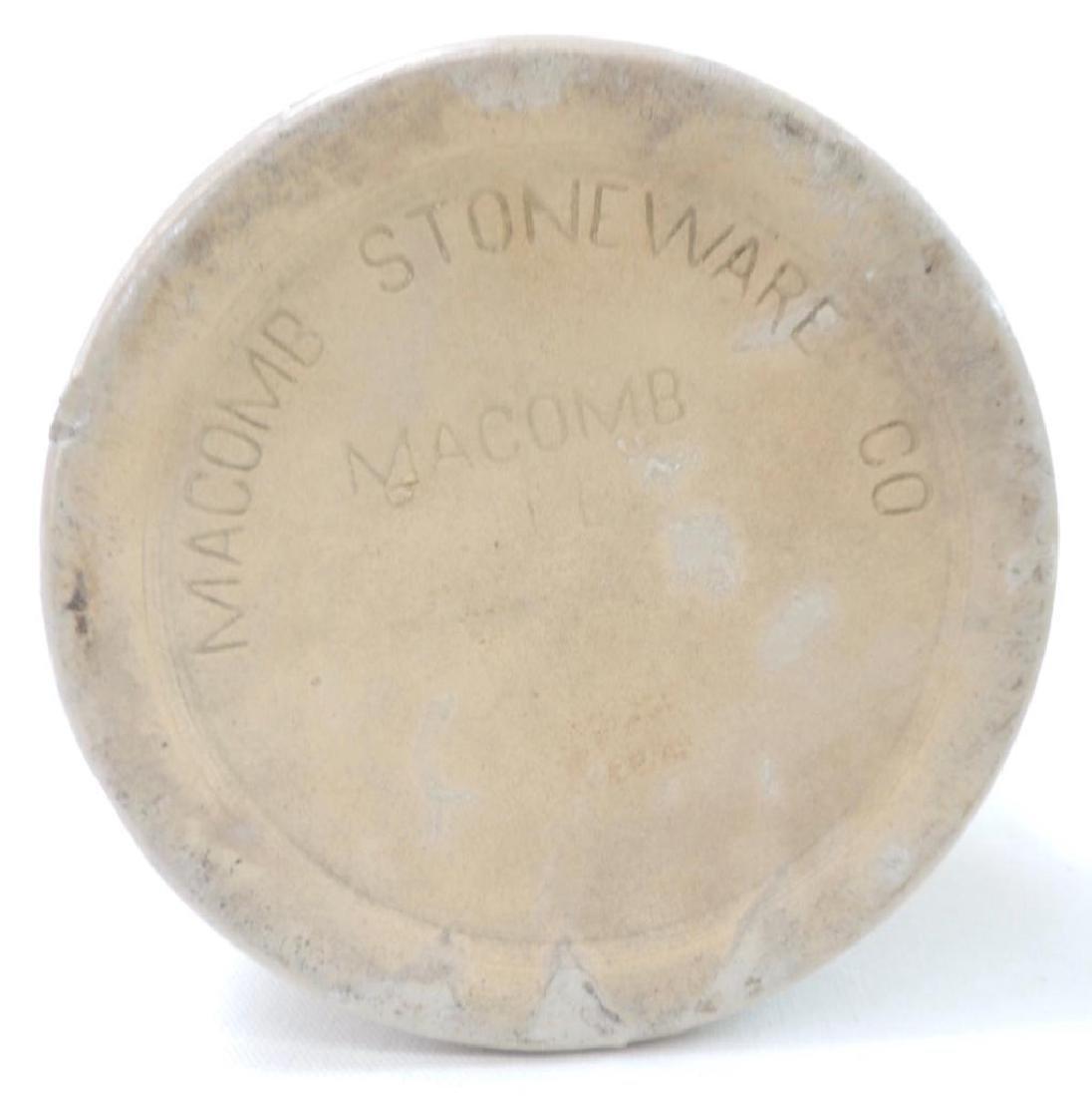 2 Macomb Stoneware Co Crock Jugs - 4