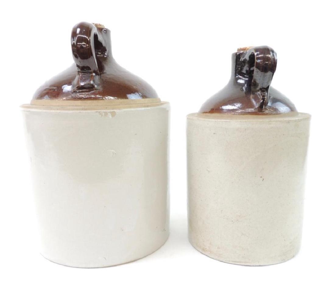 2 Western Stoneware Crock Jugs - 4
