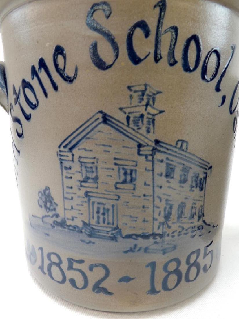 3 Salt Glaze Oswego IL History Crocks