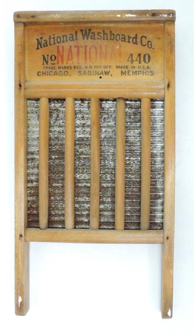 National Washboard Co. Metal Washboard