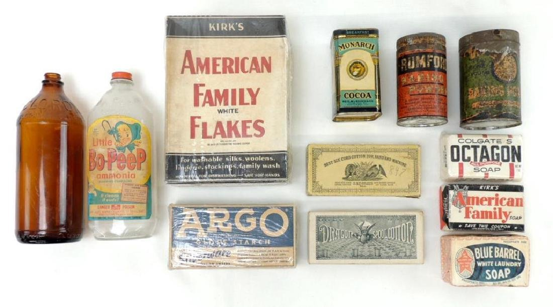Group of    Vintage Household Products Advertising