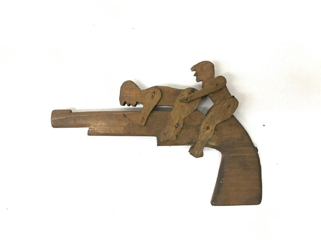 Folk art copulating gun - 2