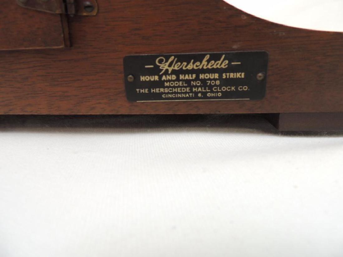 Herschede Mantle Clock Model 798 - 4