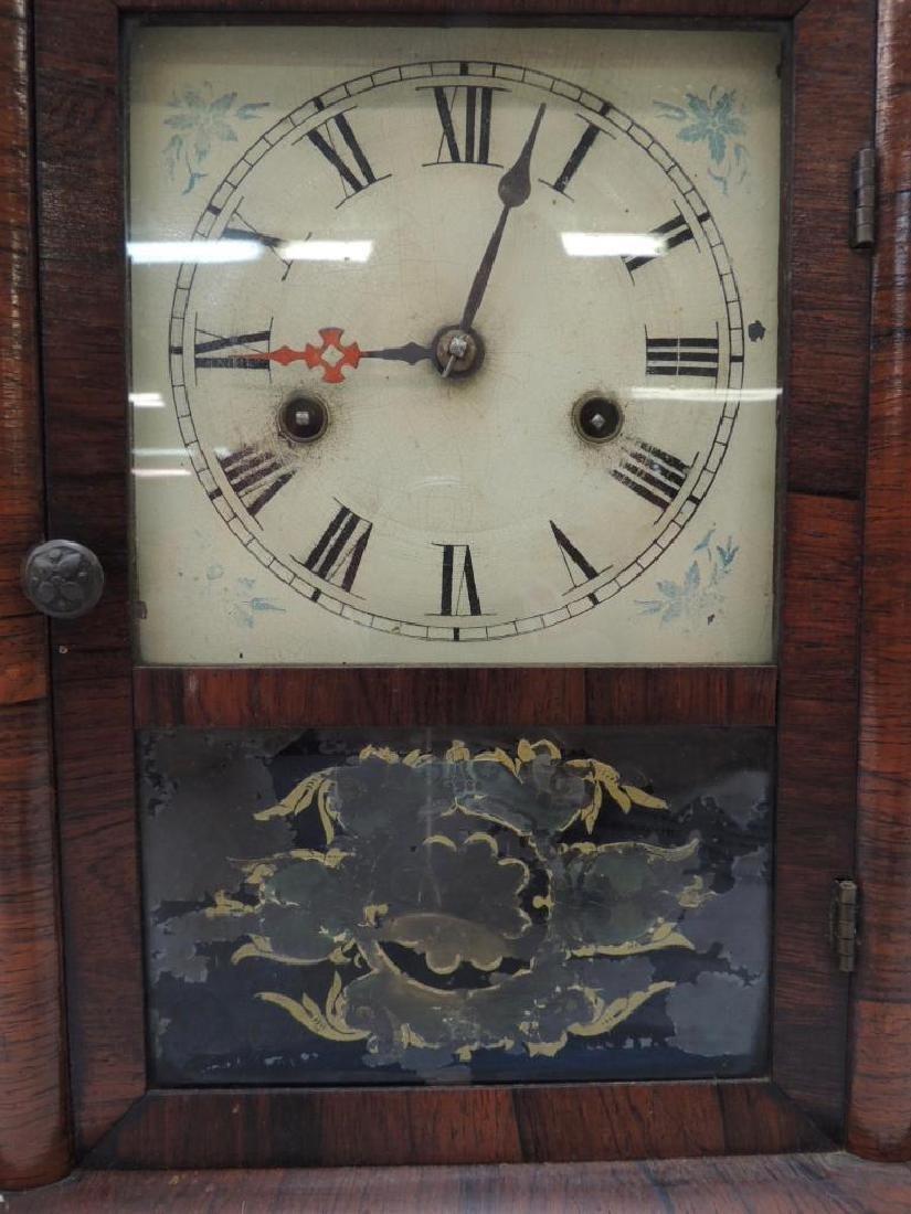 New Hampshire Clock Co Reverse Painted Clock - 2
