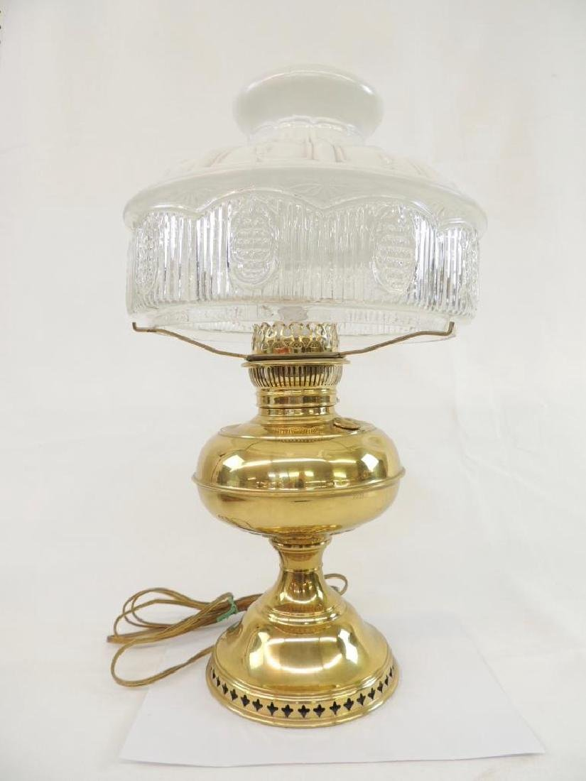 Antique Electric Brass Perfection Lamp