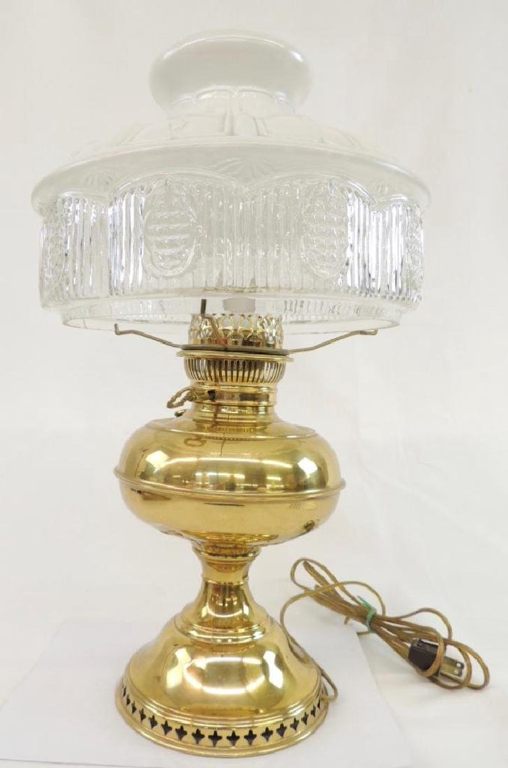 Antique Electric Brass Perfection Lamp - 2