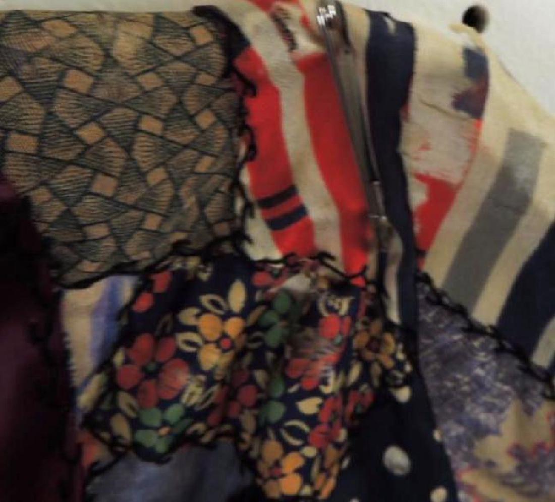 Antique Crazy Quilt Robe - 3