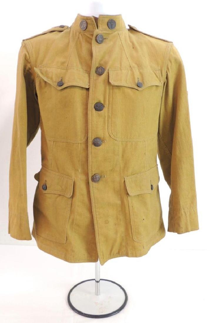 WW1 U.S. Army Medical Dept. Tunic with Red Cross Patch
