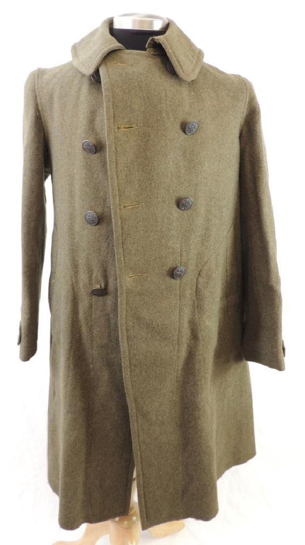 WW1 U.S. Army 87th Division Overcoat with Patches