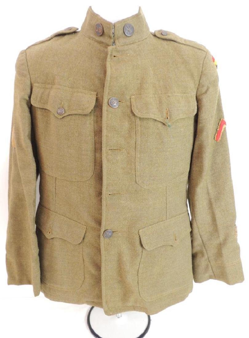 WW1 U.S. Army 42nd Division Signal Corps Tunic with