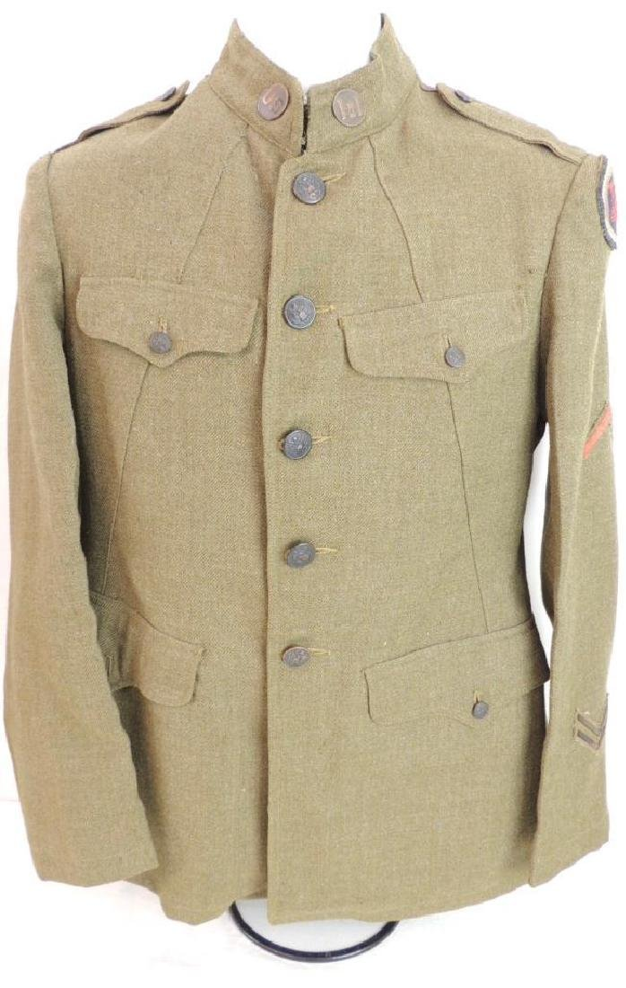 WW1 U.S. Army Corps of Engineer Tunic with Patches
