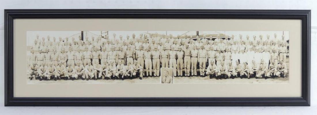 Group of 3 WW2 U.S. Army Framed Photographs
