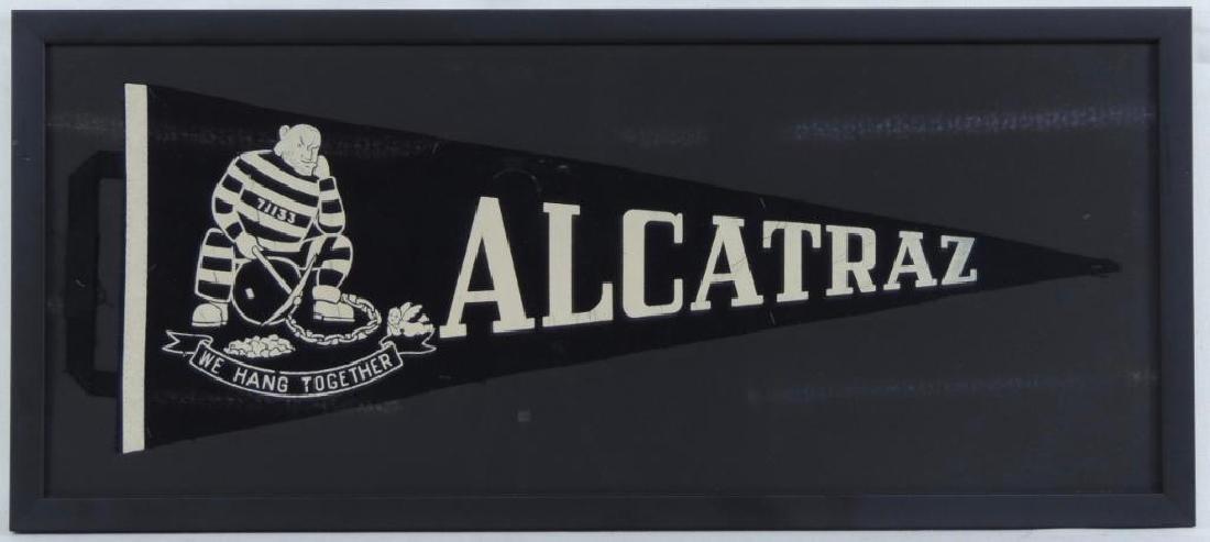 Alcatraz Framed Pennant