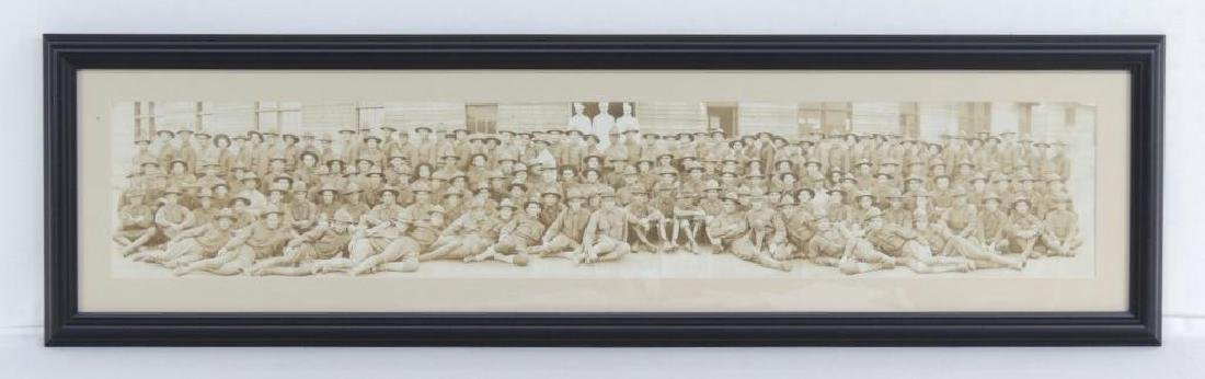 WW1 Battery H 307th Field Artillery Framed Photograph