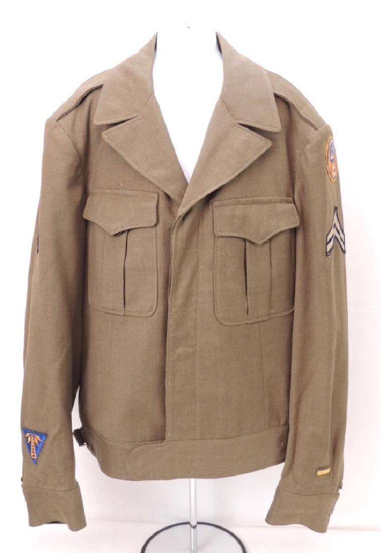 WW2 U.S. Army Jacket with Patches