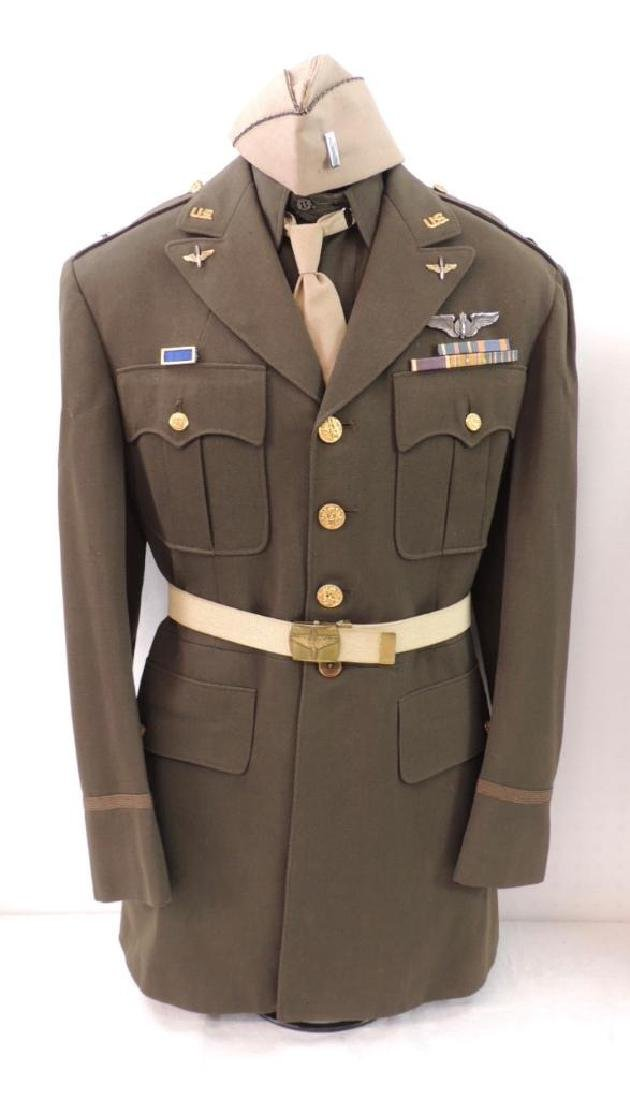 WW2 U.S. Air Service Uniform with Medals and Patches