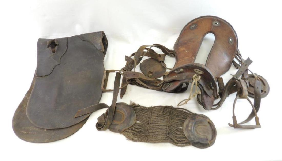 WW1 U.S. Army Leather Saddle