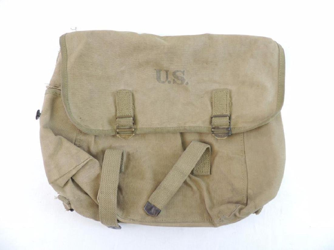 WW1 U.S. Army ID'd Bag