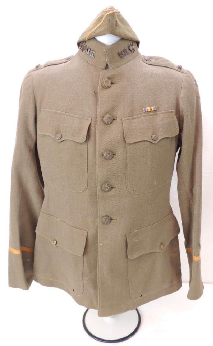 WW1 U.S. Army 26th Division Signal Corps Tunic with
