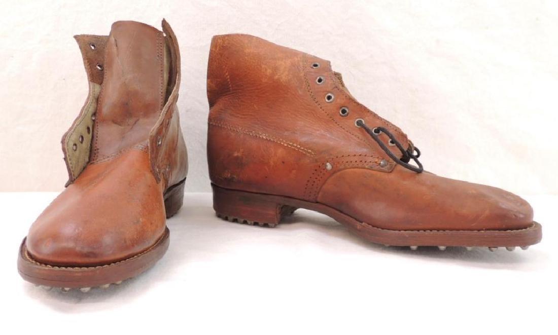 WW1 Era Leather Hobnail Boots