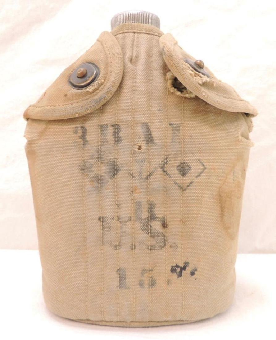 WW1 U.S. Army Canteen with Signal Corps 3rd Balloon