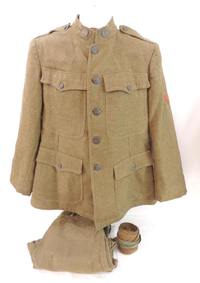 WW1 U.S. Army Medical Dept. Uniform with Pants and