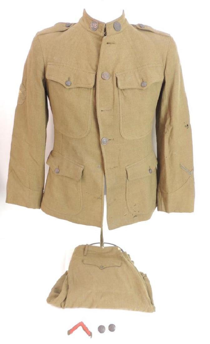WW1 U.S. Marine Corps Medical Dept. Uniform with Pants