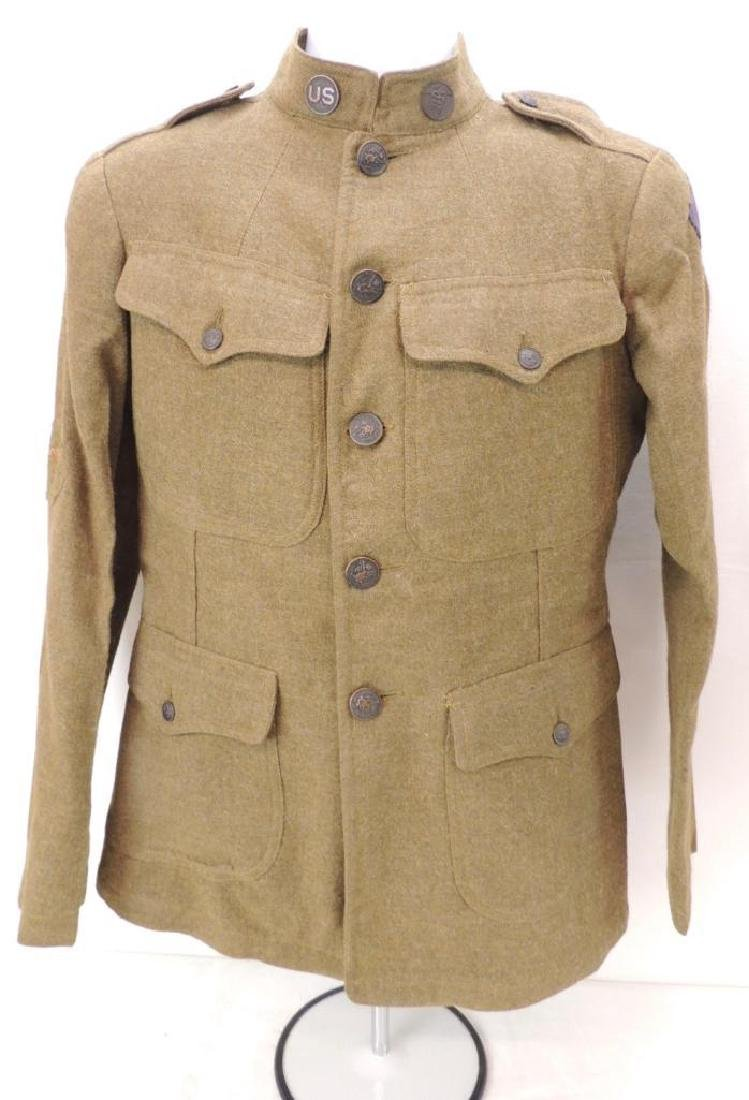 WW1 U.S. Army Advance Section Medical Dept. Tunic with