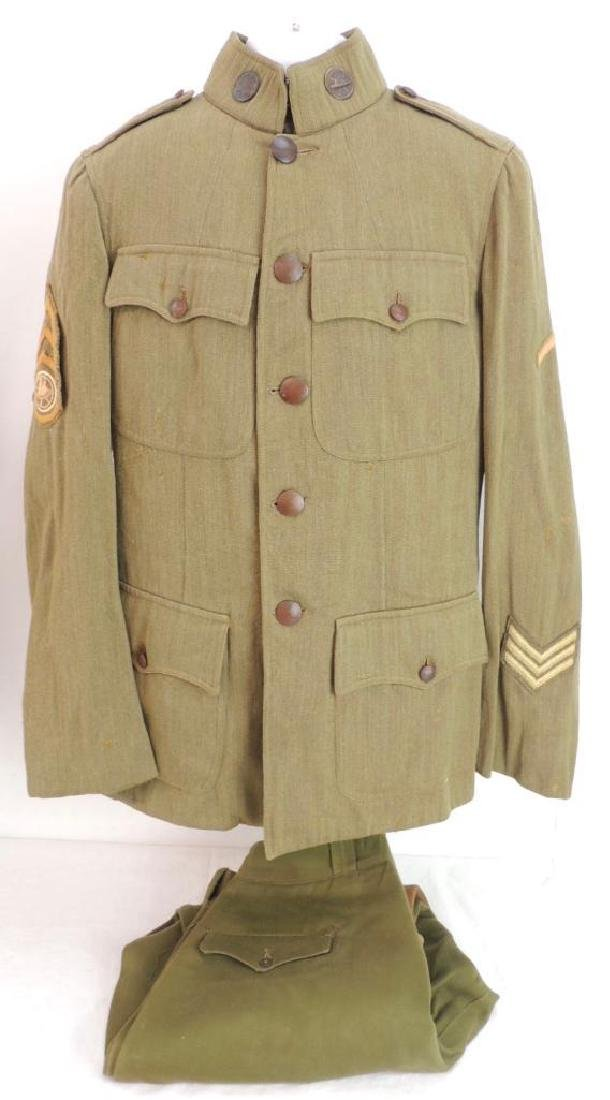 WW1 U.S. Army Sergeant First Class Motor Transport Corp