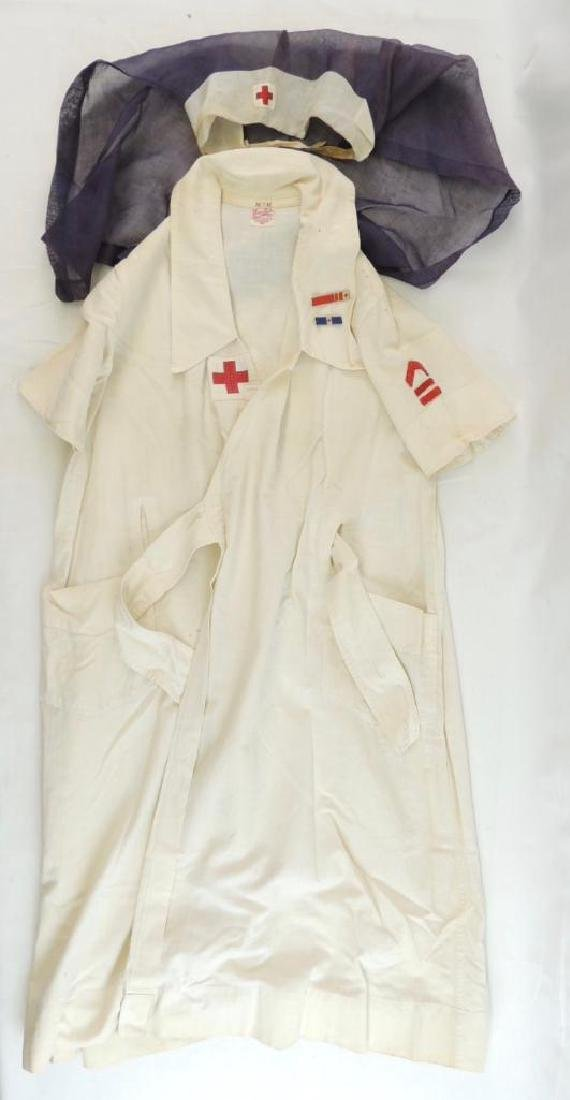 WW1 Era American Red Cross Uniform with Chevrons and
