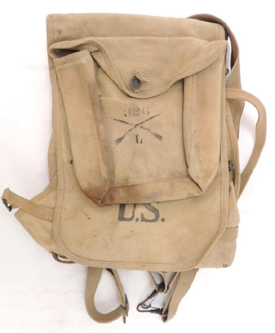 WW1 U.S. 326th Infantry L Co. Haversack