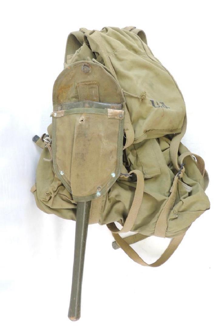 WW2 U.S. ID'd Mountain Troop Field Pack