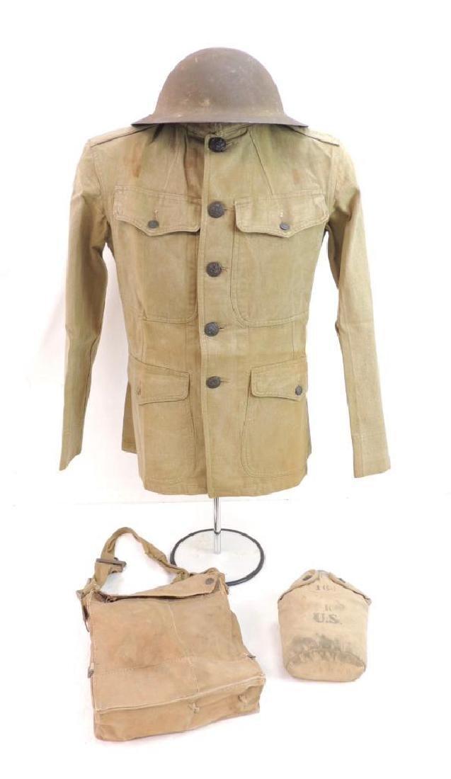 WW1 U.S. Army Uniform Grouping