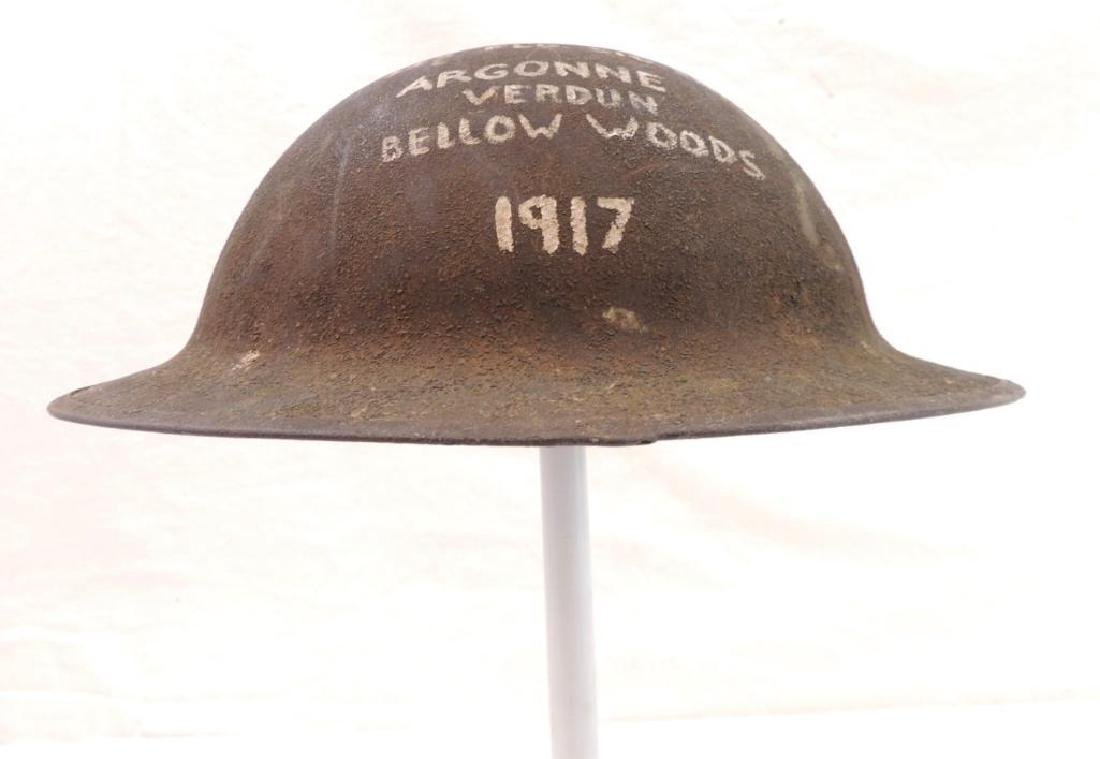 WW1 U.S. Doughboy 1917 Helmet with Hand painted 325