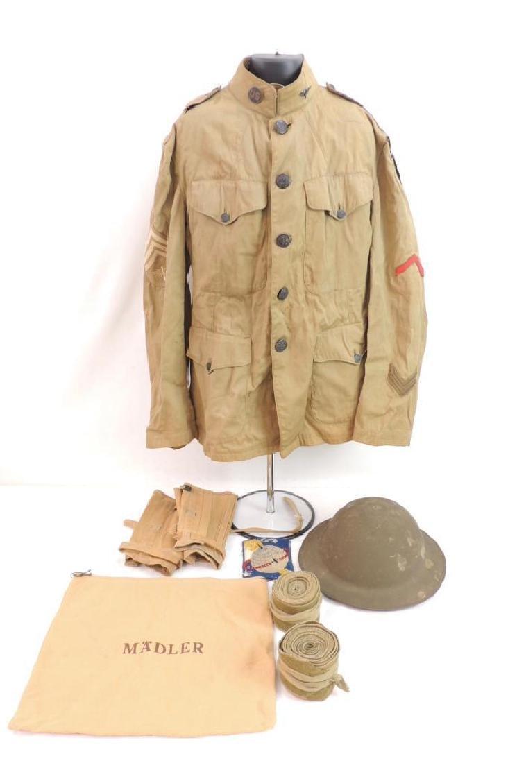 WW1 U.S. Army District of Paris Air Service Sergeants