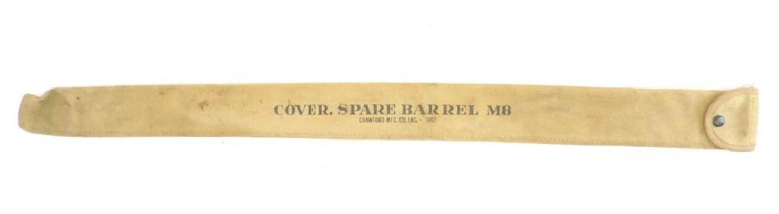 WW2 U.S. Army 1943 M8 Spare Barrel Cover