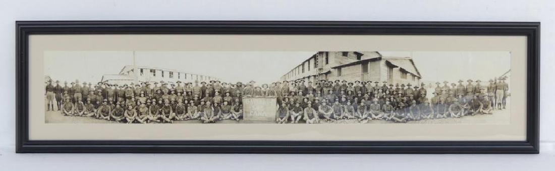WW1 Battery F 343 Fana Framed Photograph