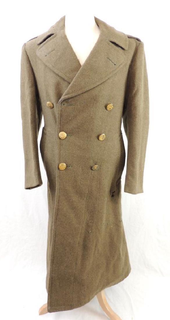 WW2 U.S. Army Overcoat