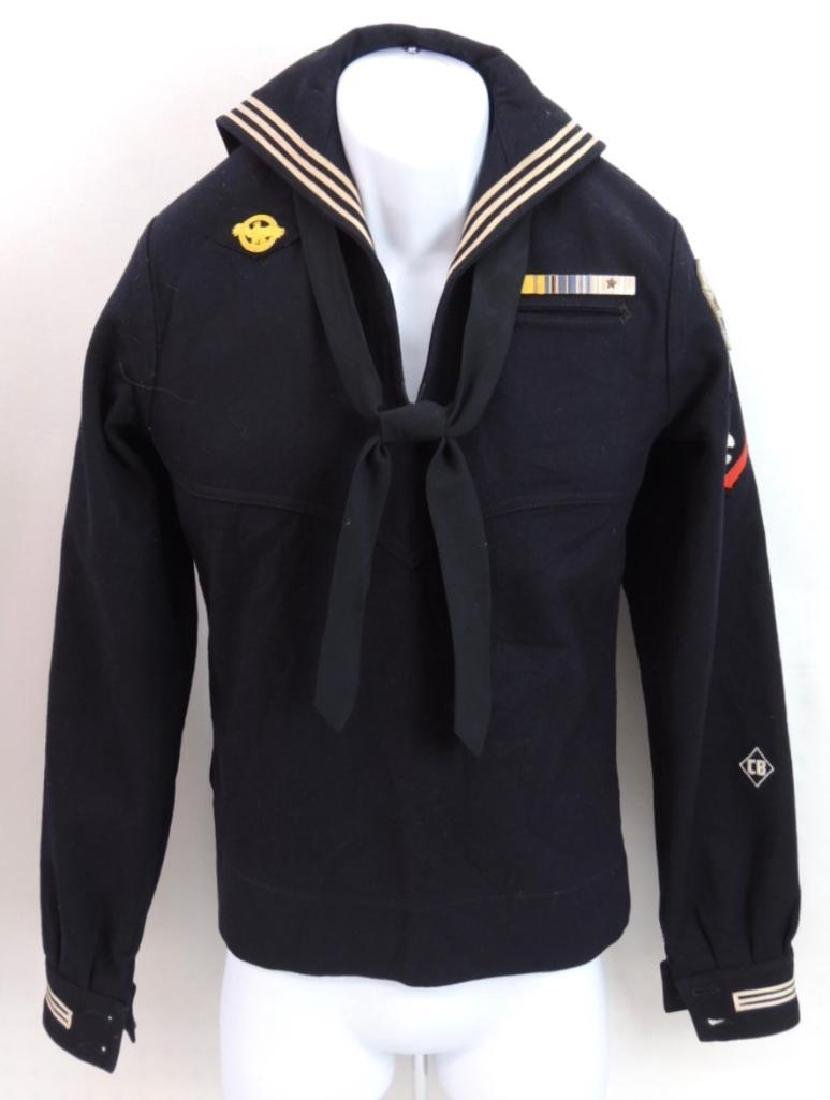 WW2 Named U.S. Navy Machinist's Mate 3rd Class Jumper