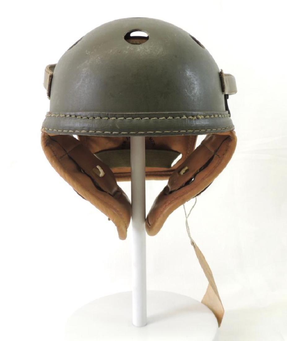 WW2 Wilson U.S. M4A2 Light Tank Helmet with Tag