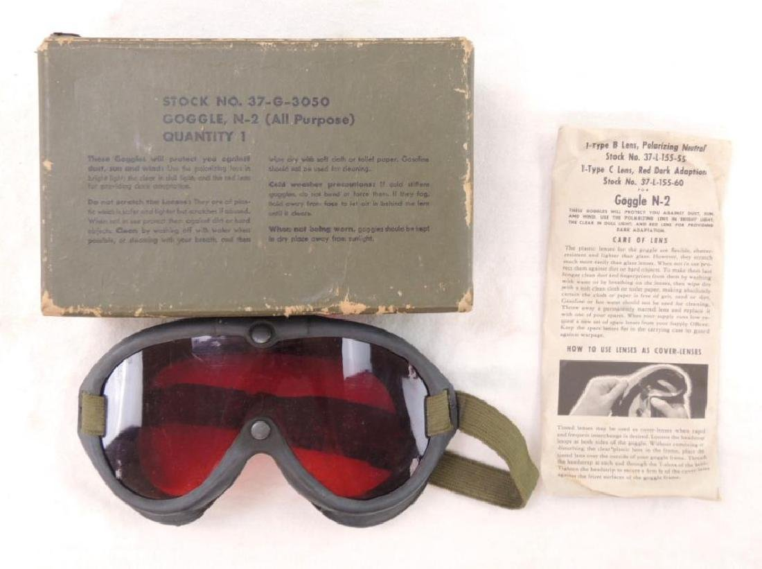WW2 N-2 Goggles Kit with Lens