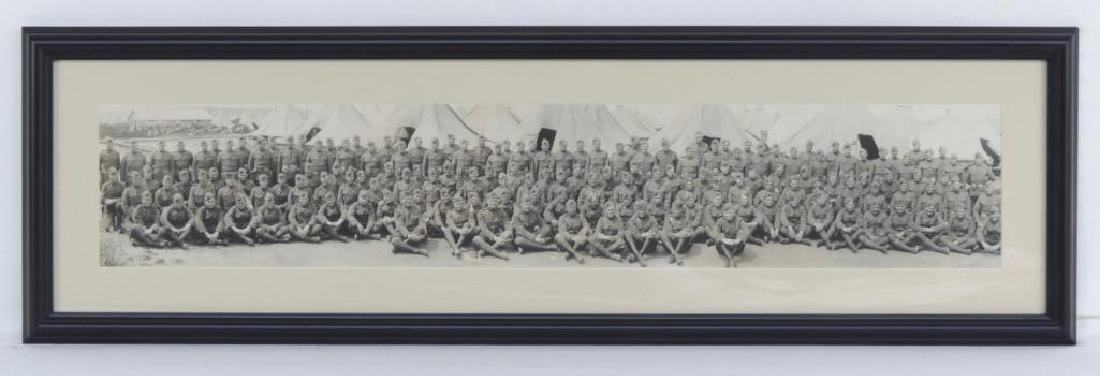 WW1 MG Company 53rd Infantry Framed Photograph