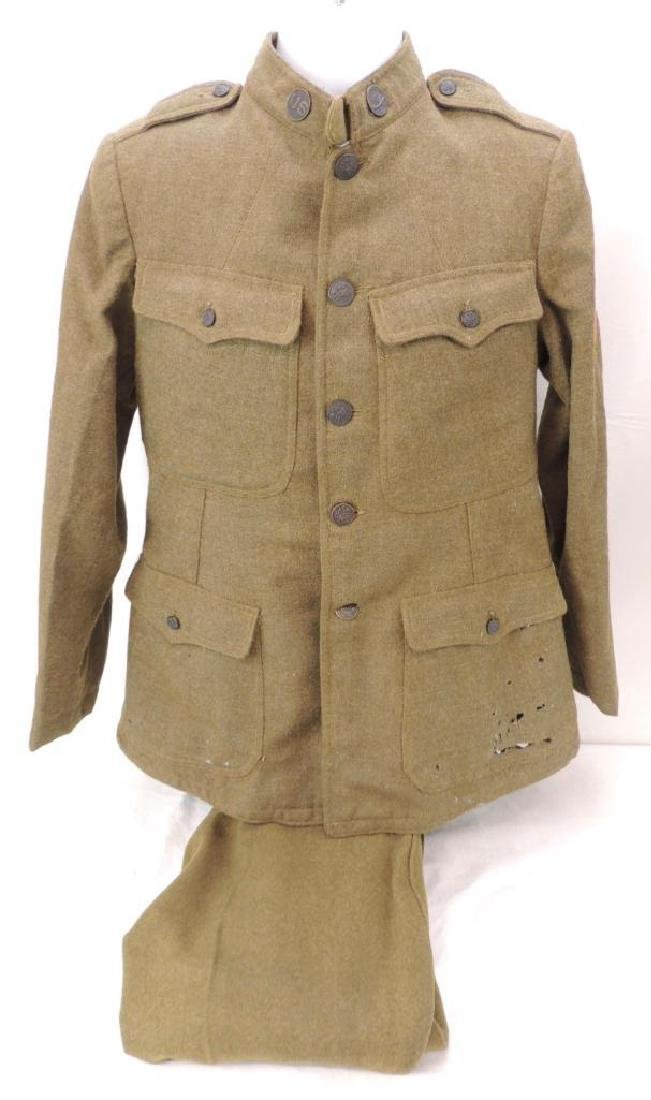 WW1 U.S. Army Transport Division Uniform with Patches