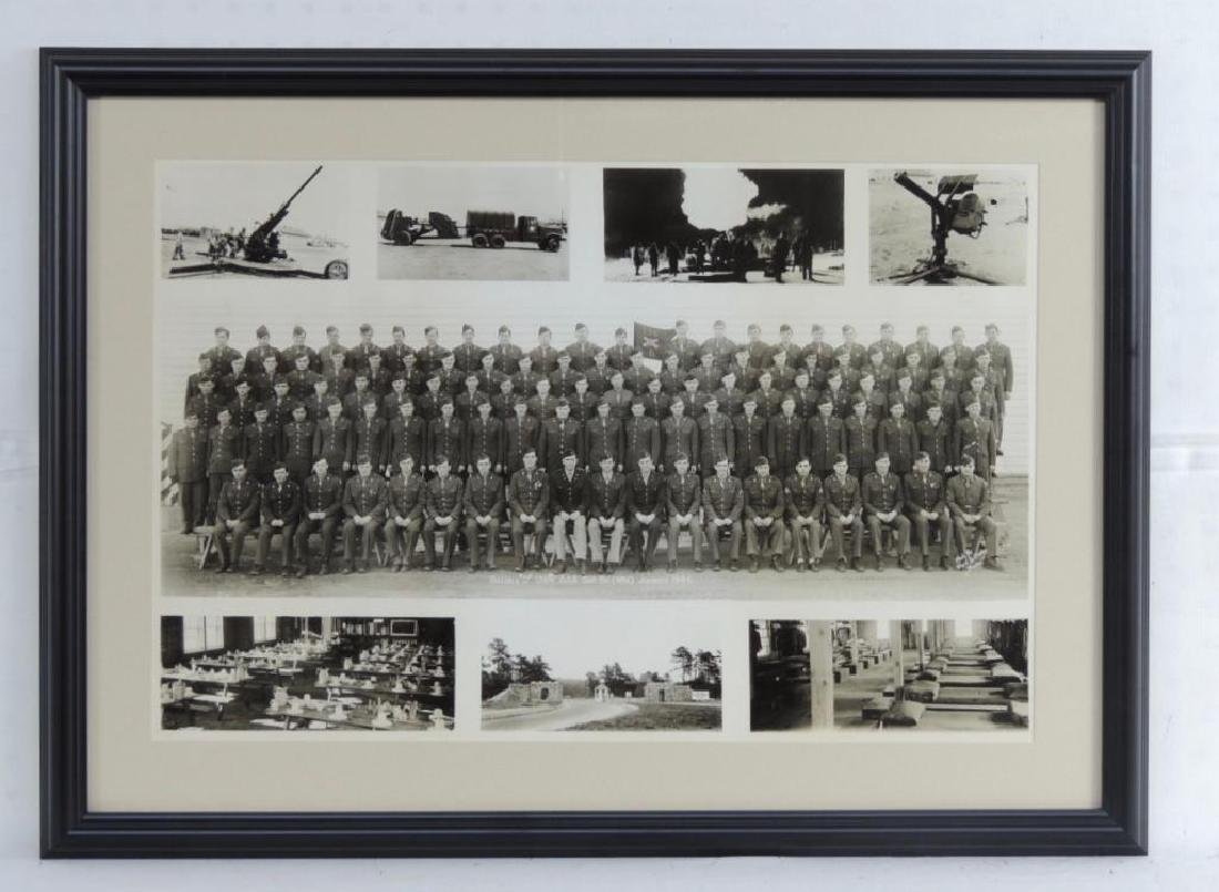 WW1 Group of 2 US Army Framed Photographs