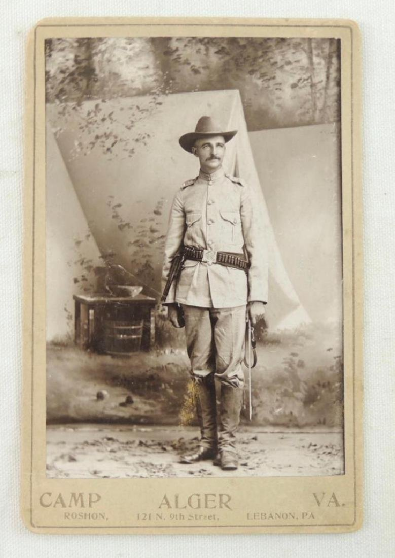 Spanish American Soldier in Full Dress Photograph